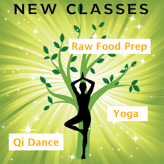 Upcoming Classes at East West Holistic Medicine