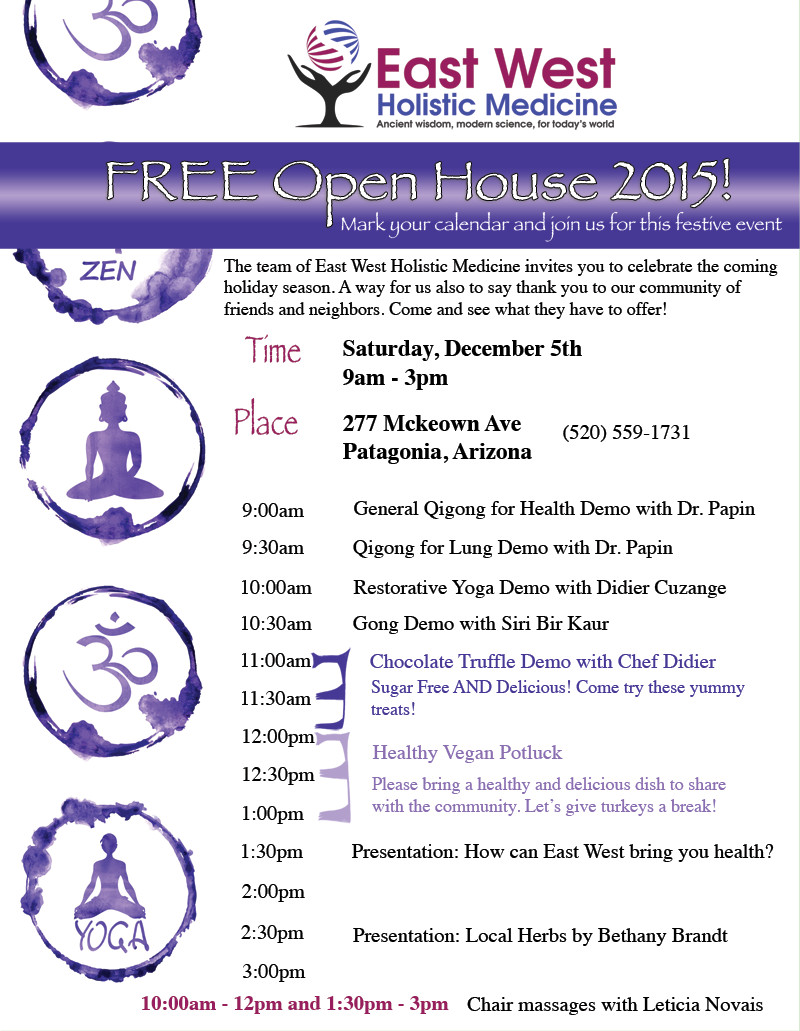 Open House 2015 Flyer